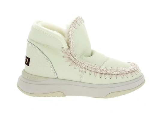 Boots Mou Blanc