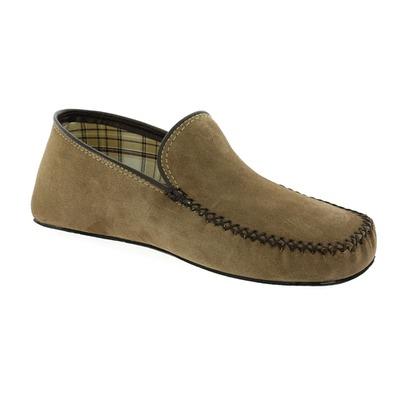 Pantoffels Cypres Taupe