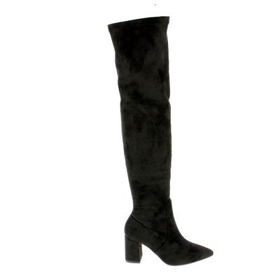 Knielaarzen Catwalk Zwart