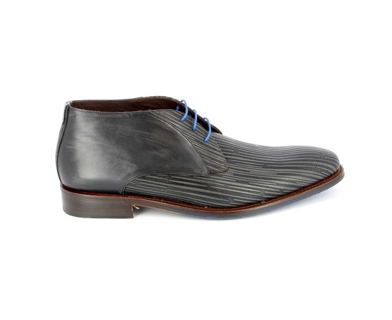 Bottines Floris Van Bommel Gris