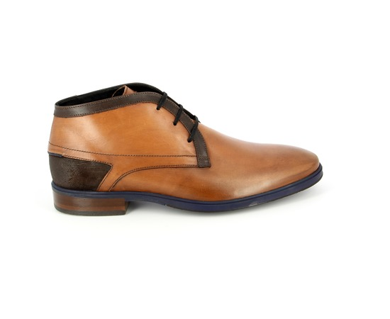 Bottines Floris Van Bommel Cognac