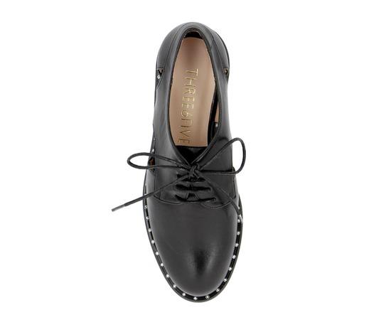 Veterschoenen Fashion Moda Zwart