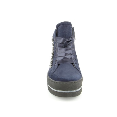 Bottines Maripe Bleu