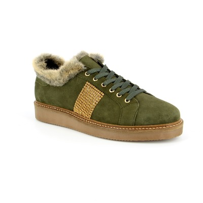Veterschoenen River Wood Kaki