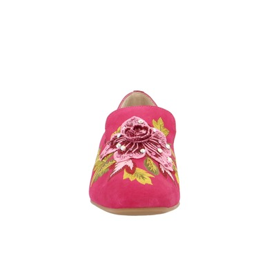 Moccassins Miralles Fuchsia