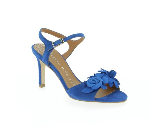 Sandales Miralles Bleu
