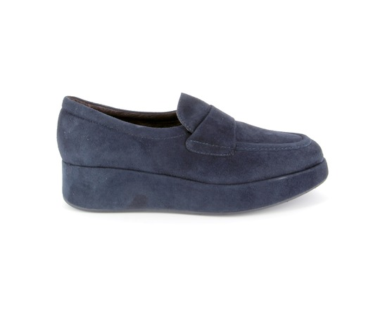 Instappers - instapschoenen Fashion Moda Blauw