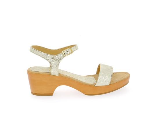 Sandales Unisa Platine