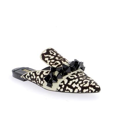 Muiltjes - slippers Kat Maconie Zwart