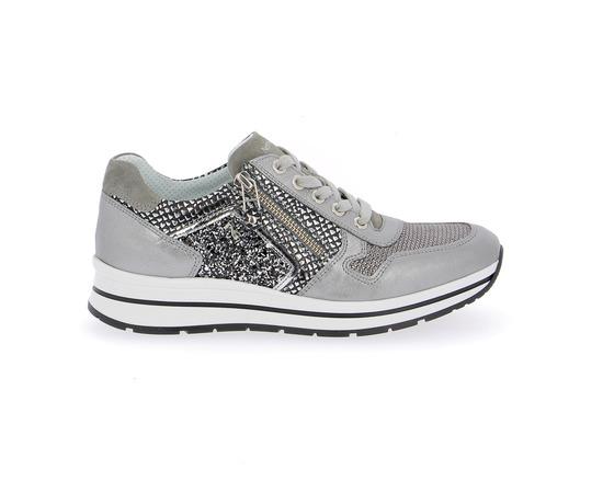 Sneakers Nero Giardini Metaal