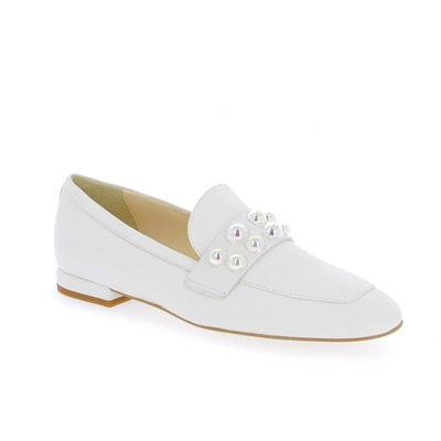 Moccassins Louisa Blanc