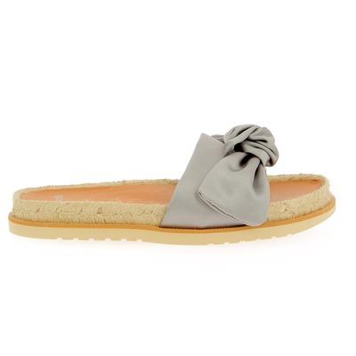 Muiltjes - slippers Catwalk Zilver