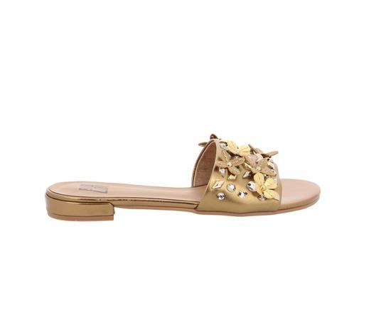 Muiltjes - slippers Bibilou Brons
