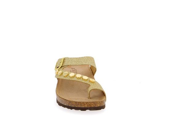 Muiltjes - slippers Scapa Goud