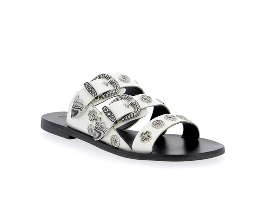 Muiltjes - slippers Sol Sana Wit