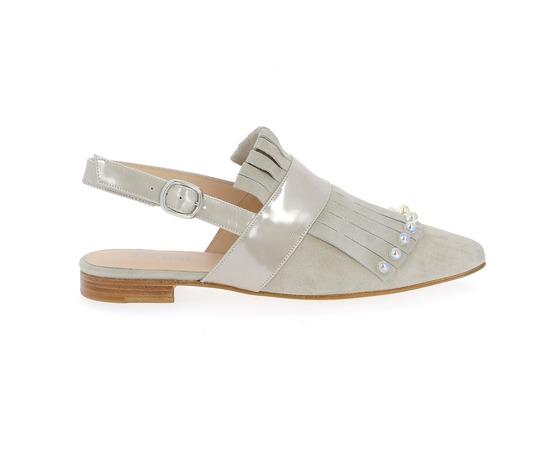 Muiltjes - slippers Pertini Taupe