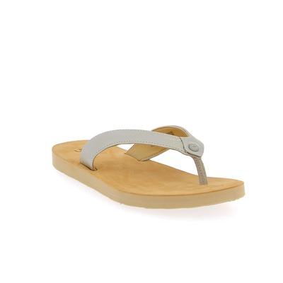 Muiltjes - slippers Ugg Zilver