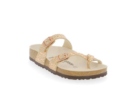 Muiltjes - slippers Birkenstock Goud
