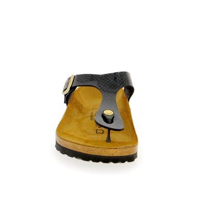 Muiltjes - slippers Birkenstock Zwart