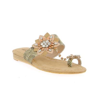 Muiltjes - slippers Alma En Pena Beige