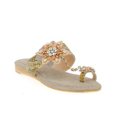 Muiltjes - slippers Alma En Pena Grijs