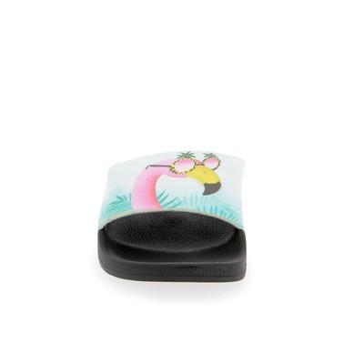 Muiltjes - slippers White Brand Zwart