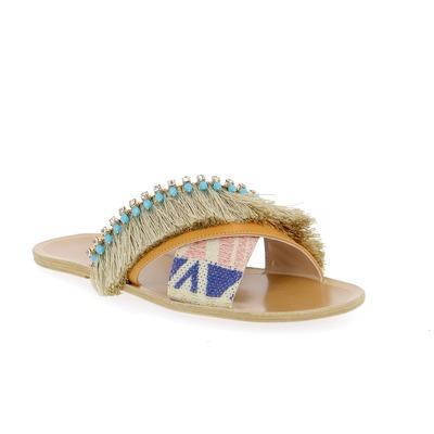Muiltjes - slippers Patrizia Pepe Blauw