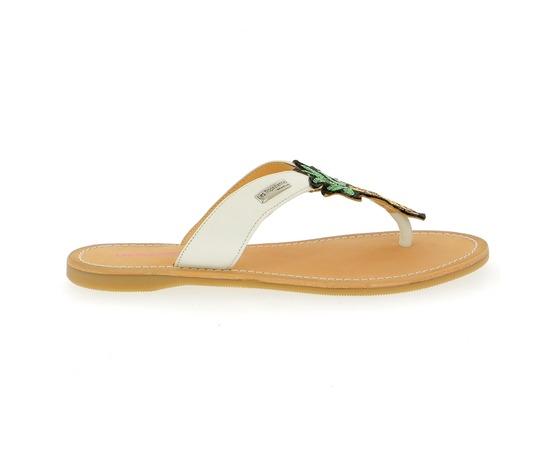 Muiltjes - slippers Tropezienne Wit