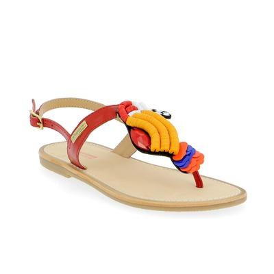 Sandalen Tropezienne Rood