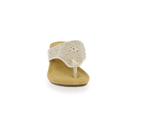 Muiltjes - slippers Cypres Beige