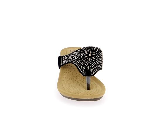 Muiltjes - slippers Cypres Zwart