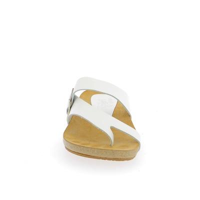 Muiltjes - slippers Yokono Wit