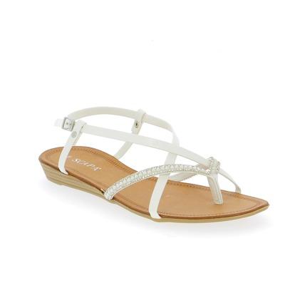 Sandales Scapa Blanc