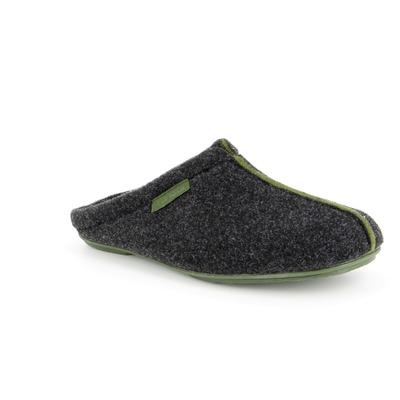 Pantoffels Cypres Groen