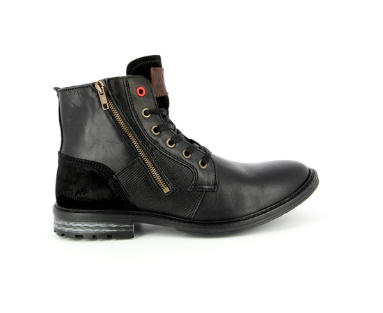 Bottines River Wood Noir