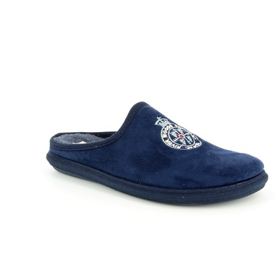 Pantoffels River Wood Blauw