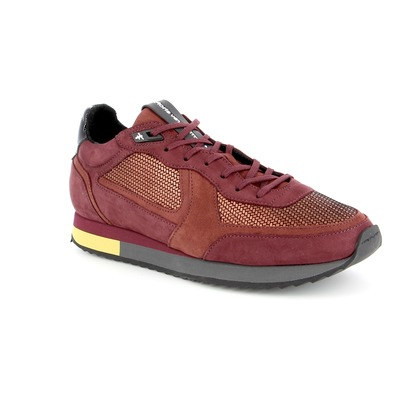 Sneakers Floris Van Bommel Bordeaux