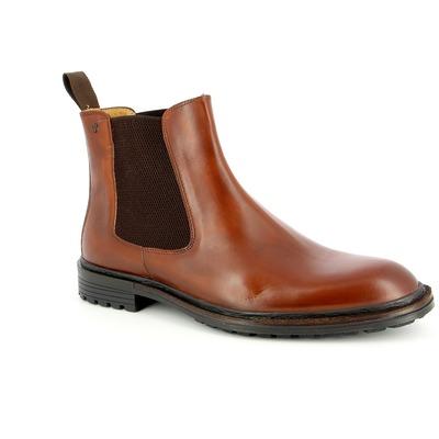 Boots Van Bommel Cognac