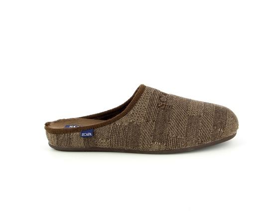 Pantoffels Scapa Bruin
