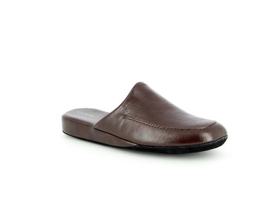 Pantoffels Cypres Bruin