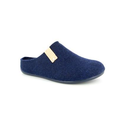 Pantoufles Cypres Bleu