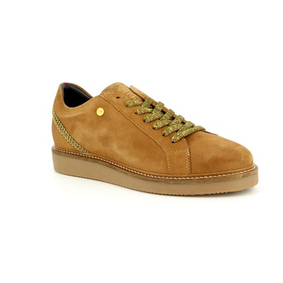 Veterschoenen River Wood Cognac