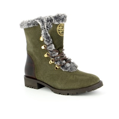 Bottines River Wood Kaki