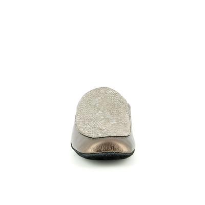 Pantoffels Cypres Brons