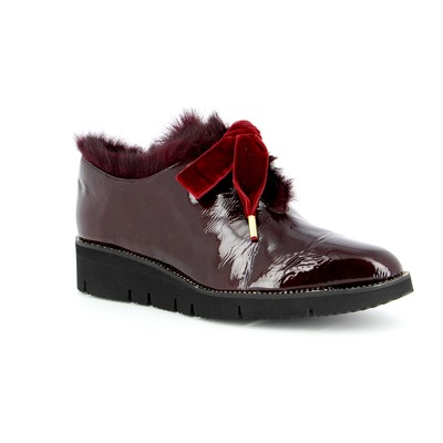 Veterschoenen Delaere Bordeaux