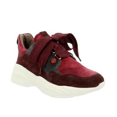 Basket Maripe Bordeaux