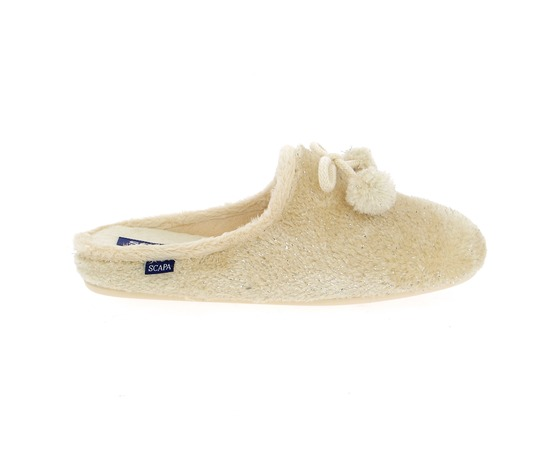 Pantoffels Scapa Beige