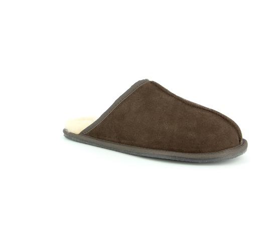 Pantoufles Cypres Brun