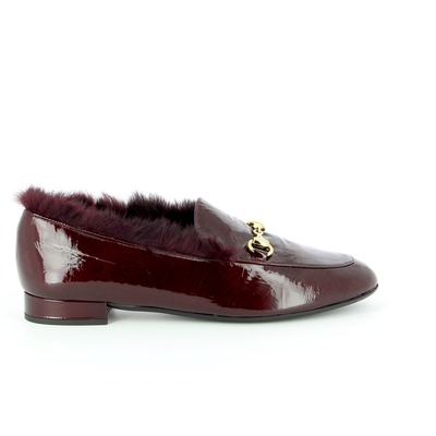 Moccassins Delaere Bordeaux