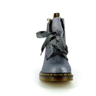 Bottines Doc Martens Argent